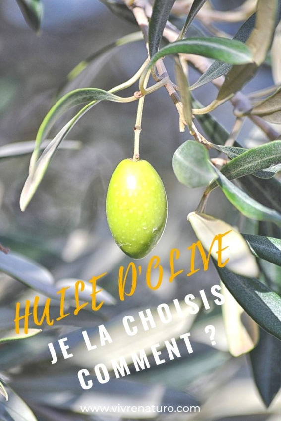 huile d'olive choix