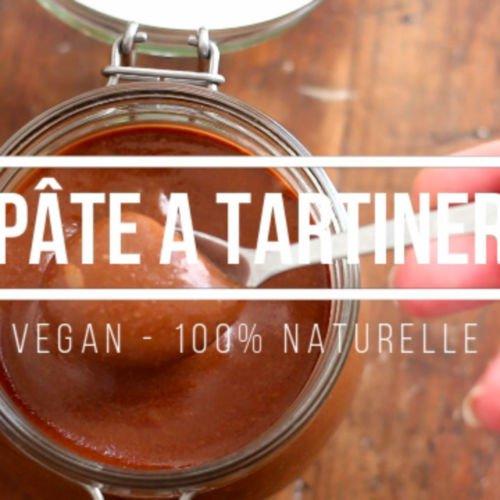 Pâte à tartiner vegan et 100% naturelle